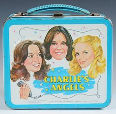 Collectible Vintage 1978 Charlie& Angels Aladdin Metal Lunch Box - No Thermos Lunch Box Thermos, Tin Lunch Boxes, Vintage Lunch Boxes, Metal Lunch Box, Kate Jackson, School Lunch Box, Classic Toys, Vintage Toys, Vintage Stuff