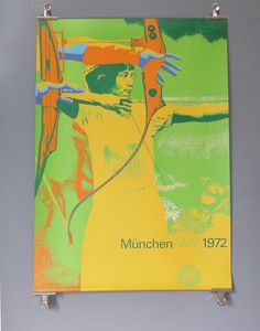 1972 Munich Olympics designed by Otl Aicher