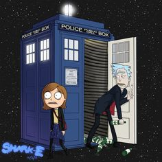 So I'm starting to get into the new Doctor Who because the dr. is a cranky old scott(i can identify with that) and then all of a sudden i made this connection and it made the Capaldi doctor s...