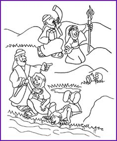 printable christian coloring pages for kids best biblical sheets ...