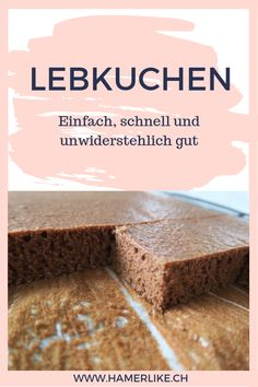 Lebkuchen – einfach, schnell und unwiderstehlich gut A simple and quick recipe for tin gingerbread, airy and moist. Cookie Recipes, Snack Recipes, German Baking, Canned Blueberries, Spice Bread, Scones Ingredients, Vegan Blueberry, Savoury Baking, Indian Desserts