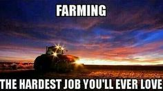 Farming... reminds me of my grandfather