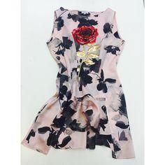Flower long top Long Tops, Flower, Fashion Design, Flowers