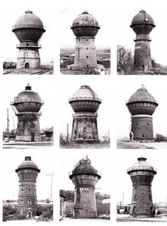 Water Towers, 1965-82