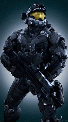 Halo Reach - Noble Six Multiplayer Spartans by lemon100.deviantart.com on @DeviantArt