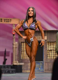 Megan Wyble 3rd Felicia Romero Pro 2014 Fitness Class