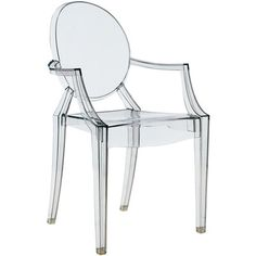 ghost chair dining table