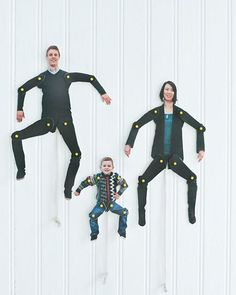 DIY Dancing Family Cut-Outs by sweetpaulmag #DIY #Dolls