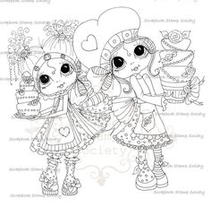 Sherri Baldy Digi Stamps    Here are some of the NEW digis I sneak peeked last night coming out from My Fashion Dollie Lil Ragamuffins ...They are