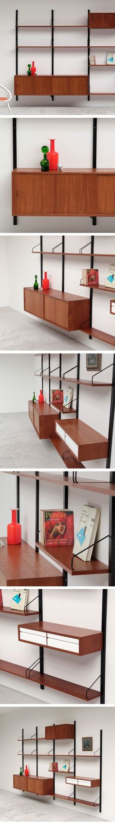 Poul Cadovius, Royal System, wall unit, danish