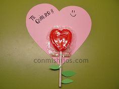 Manualidad De Amor Y Amistad Para Ninos