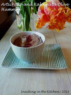 Artichoke and Kalamata Olive Hummus ~ Recipe