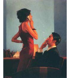 Jack Vettriano - La puesta en marcha