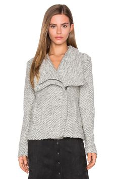 cupcakes and cashmere Sanford Jacket in Light Heather Grey | REVOLVE