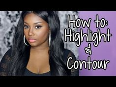How to | Highlight & Contour (I used these same colors minus the foundation)