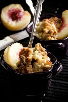 Peach Crumble 3 by Kaitlin F, via Flickr