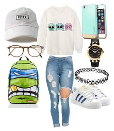 """Untitled #21"" by maddysr306 on Polyvore featuring interior, interiors, interior design, home, home decor, interior decorating, adidas Originals, Chicnova Fashion, RetroSuperFuture and Versace"