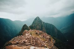 Machu Picchu, in all of its glory. -   One of the most incredible places my eyes have ever seen.