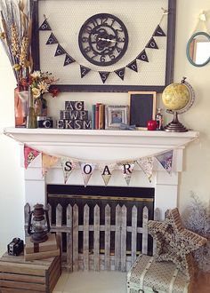 2013 Back to School Mantle