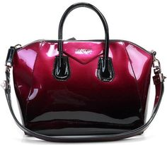 Givenchy Antigona Satchel Bag - Fuchsia Gradient Patent