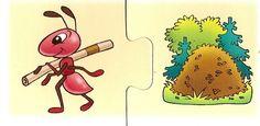 που ζουν τα ζώα - where do they live? Educational Activities For Kids, Infant Activities, Colegio Ideas, File Folder Games, Preschool Worksheets, Matching Games, Speech And Language, Projects To Try, Drawings