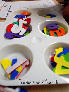 Fun learning activities for 2 and 3 year olds! kid-stuff