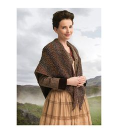 Outlander Garment Knit Kit-Wavering Both Sides Now Shawl
