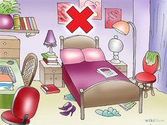 Asegúrate de que tu dormitorio no esté muy abarrotado. Mantenlo lo más libre y sencillo posible. No agregues sillas, lámparas o cuadros adicionales, si no estás seguro si te serán realmente necesarios. Entre más cosas tengas, será más difícil encontrar un equilibrio.