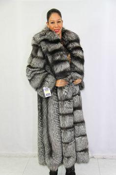 Silberfuchs Silver Fox Pelliccia Volpe Argentata Fur Fourrure Pelze Fuchs Coat | eBay