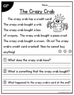 103 Best 1st Grade Reading Comprehension Passages images   Improve ...