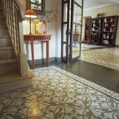 Via mosaikfliesen zementfliesen kreidefarbe terrazzoplatten no 13252 in der casa al mar - Fliesen kempf ...