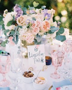 It might be cold outside but we are keeping warm with thisby @theknot Pastels galore! Double-tap if you're as obsessed with this floral centerpiece as we are!  http://ift.tt/1M9CqoS #Weddings #CenterPiece #Events #Parties #TheKnot #Beautiful