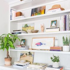 After a week at the beach with family reading books, playing games and chasing my niece and nephew around, this bright bookcase mood is #fightingsundayscaries @amberinteriors @tessaneustadt #interiors #interior #homedecor #shelfie #shelfstyling