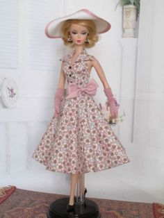 Halter-Dress-For-Silkstone-Doll-By-Kunchris 5/15/2015  $76.00