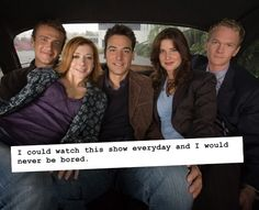 I could watch this show everyday and i would never be bored--soo true!!! :)