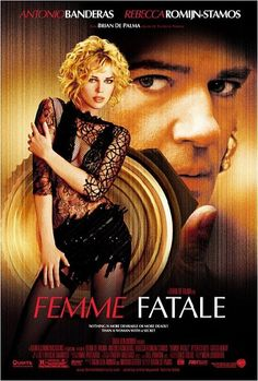 Femme Fatale is a contemporary film noir about an alluring seductress (Rebecca Romijn-Stamos) suddenly exposed to the world - and her enemies - by a voyeuristic photographer (Antonio Banderas) who becomes ensnared in her surreal quest for revenge.