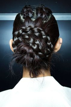 Best Spring 2015 Runway Hair Trends - Top Hairstyles For Spring - Harper's BAZAAR