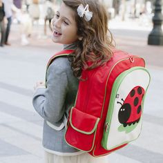 9fb904d97e9 My Sweet Muffin - Beatrix Juju Ladybug Big Kid Backpack  Machine washable  backpack for ages 5 to