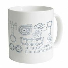 We love this #PistonHeads Car Parts Mug