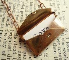 secret love letter necklace.