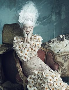 The Opulence of Marie Antoinette, photography by Luigi + Iango for Vogue Germany April issue 2014 - HUF Magazine