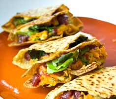 Sweet 'n Sassy Sweet Potato Pita Pockets! - Healthy. Happy. Life.