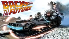 modeling and rendering CINEMA Back to the future Doc Brown, Marty Mcfly, Comedy Movies, New Movies, English Adventure, Science Fiction, Delorean Time Machine, Future Wallpaper, Sci Fi News