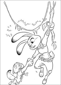 Zootopia Coloring Pages 2