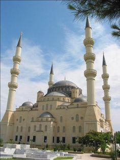 Azadi Mosque , Ashgabat – Turkmenistan