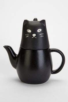 Black Cat Tea-For-One Set - Urban Outfitters