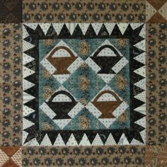 from Vintage Design Group at Little Quilts in Marietta, GA (Tell me your name so I can give you credit--it's great!)