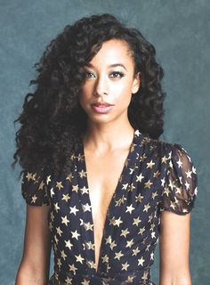 Corinne Bailey Rae's blouse or dress, lovely stars!
