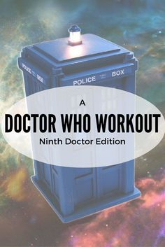 Love Doctor Who?  Want to get a workout in while you are watching?  Check out this fun, easy, yet effective, workout to do while watching the Ninth Doctor episodes!!