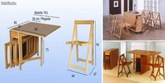 Table, Furniture, Home Decor, Food, Table And Chairs, Home Decorations, Maximize Space, Fold Out Desk, Houses